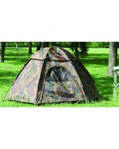 Camouflage Three-Person Hexagon Dome Tent