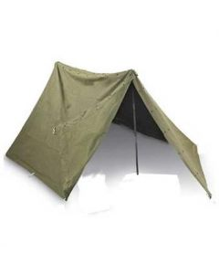 Used Complete GI Pup Tent Shelter Halves
