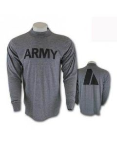 U.S. Army Physical Training PT Shirt (Long Sleeve)
