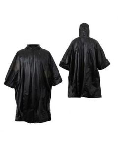 G.I. Type Military Rip-Stop Poncho (Black)