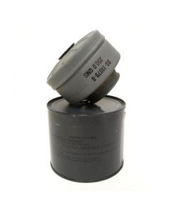 US M11 Gas Mask Filter in Can
