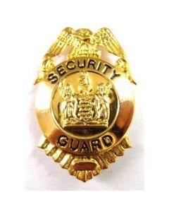Security Guard Badge - Small