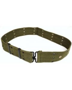 O.D. Green Cotton Pistol Belt (Imported)