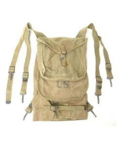 Collectable WWI M1928 Haversack With Pouch Dated