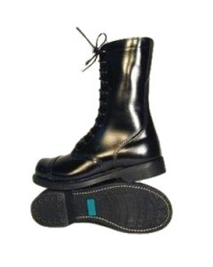 Leather Combat Boots Steel Toe