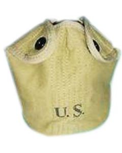 WWII Khaki M-1910 Canteen Cover