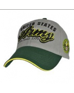 US Army Two Tone Baseball Hat with Logo