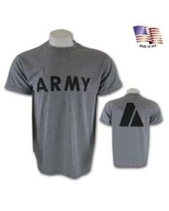 U.S. Army Physical Training PT T-Shirt (Short Sleeve)