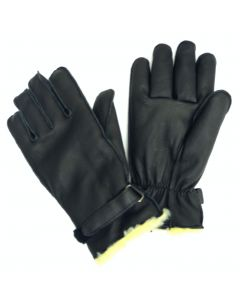 Cow Grain Pyle Lined Glove