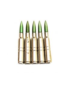 GI 5 Pack of Swedish Mauser M41 6.5 Dummy Rounds