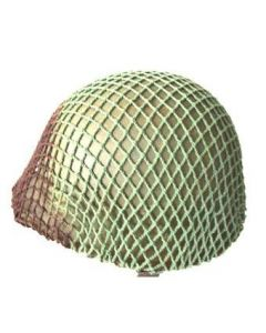 WWII Canadian Helmet Camouflage Netting