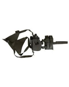 Pistol Shoulder Holster with Double Magazine Pouch
