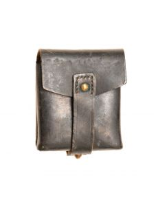 Vintage Italian Carcano Leather Ammo Pouch