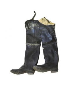 WWII Rubber Wader Boots