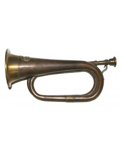 Reproduction CSA Copper Cavalry Bugle