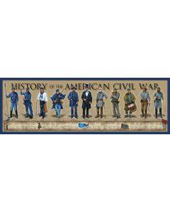History of the American Civil War Print