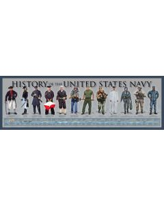 History of the United States Navy Poster Print