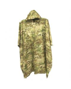 Military Style Multicam Poncho