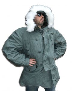 US Made N3B Extreme Cold Weather Parka Slightly Discolored