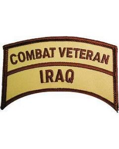 Iraq Combat Veteran Patch