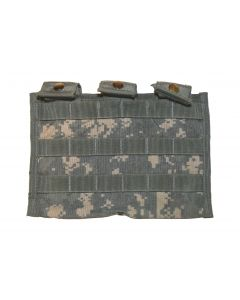 Used GI MOLLE II 30 Round Triple Mag Pouch