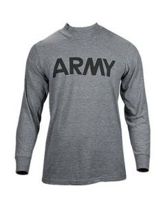 Front Logo U.S. Army P.T.Shirt (Long Sleeve)