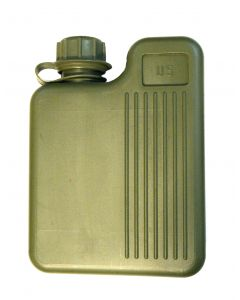 Square 1 Liter US Canteen