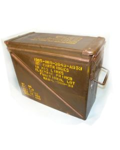 GI Used 20MM Ammo Can