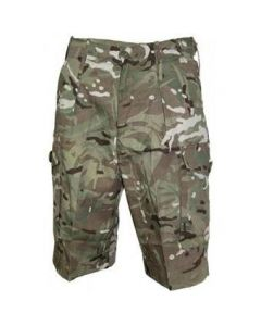 GI British Multicam BDU Combat Shorts
