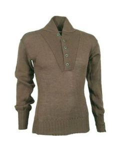 GI Wool 5 Button Sweater