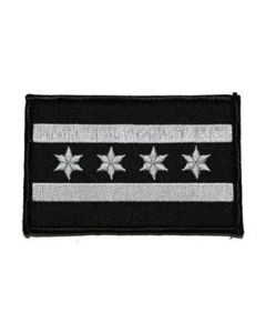 Velcro Chicago Flag Subdued Patch