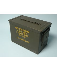 GI Fat .50 Cal Ammo Can Used