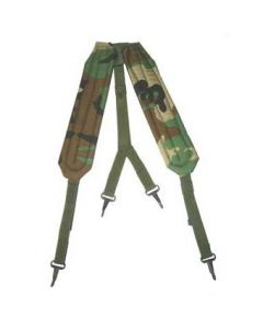 GI Nylon Y-Type Suspenders (Woodland)