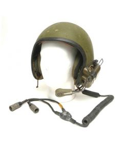 GI Combat Vehicle Crewman Helmet With Communications Cables