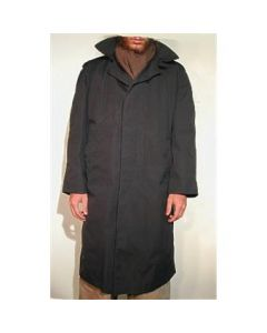 Black All Weather Rain Coat