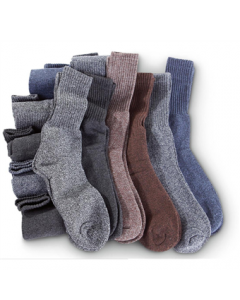 12 Pack of Boot Socks