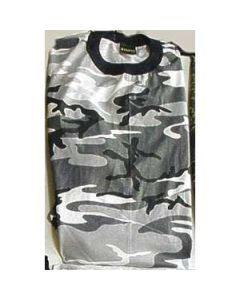 Short Sleeve Urban Camouflage