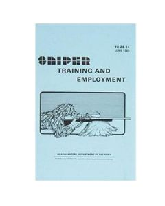 Sniper Training and Employment Manual TC 23-14