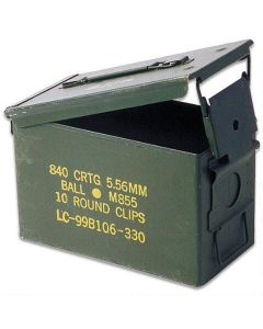GI Used .50 Cal Ammo Can