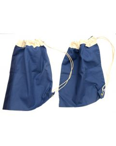 2 Pack of Lightweight Blue Shoulder Bags