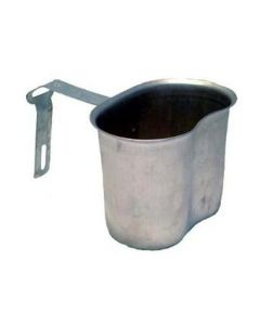 GI WWII L-Handle Canteen Cup Used