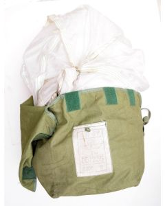 Chinese GI 24 Foot White Parachute in Bag
