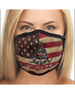 Dont Tread on Me Flag Face Mask