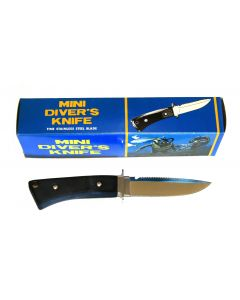 Mini Divers Knife With Locking Leg Sheath