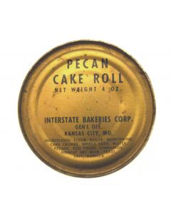 Vietnam Era C Ration Pecan Cake Roll