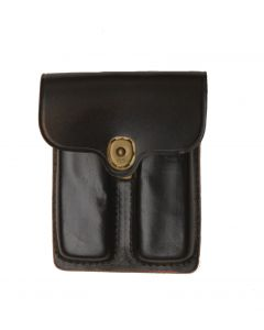 GI Military Police Leather .45 Caliber Ammo Pouch 1970s