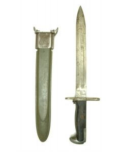 European M1 Garand 10in Bayonet With M7 Scabbard