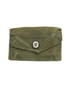 GI WWII First Aid Carlisle Pouch Used
