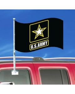 US Army Car Flag