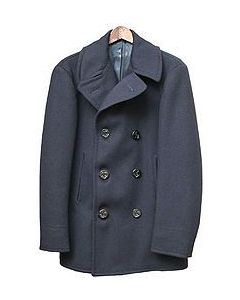 GI Genuine Navy Peacoat New